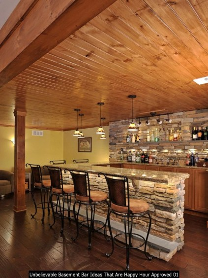 Unbelievable Basement Bar Ideas That Are Happy Hour Approved 01