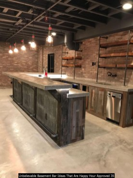 Unbelievable Basement Bar Ideas That Are Happy Hour Approved 35