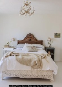 Unordinary Vintage Bedroom Design Ideas That You Should Know 03