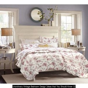 Unordinary Vintage Bedroom Design Ideas That You Should Know 12