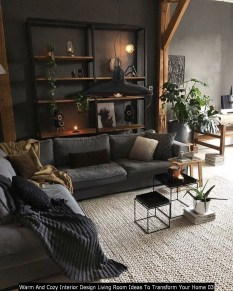Warm And Cozy Interior Design Living Room Ideas To Transform Your Home 03