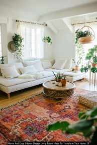 Warm And Cozy Interior Design Living Room Ideas To Transform Your Home 19
