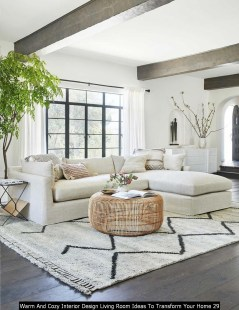 Warm And Cozy Interior Design Living Room Ideas To Transform Your Home 29