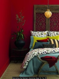 Astonishing Red Bedroom Decorating Ideas For You 30