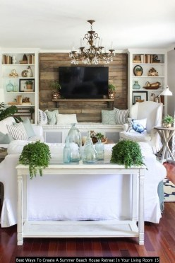Best Ways To Create A Summer Beach House Retreat In Your Living Room 15