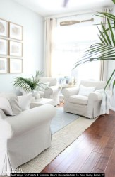 Best Ways To Create A Summer Beach House Retreat In Your Living Room 23