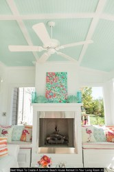 Best Ways To Create A Summer Beach House Retreat In Your Living Room 25