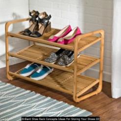Brilliant Shoe Rack Concepts Ideas For Storing Your Shoes 03