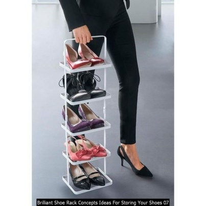 Brilliant Shoe Rack Concepts Ideas For Storing Your Shoes 07