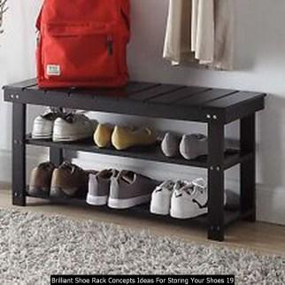 Brilliant Shoe Rack Concepts Ideas For Storing Your Shoes 19