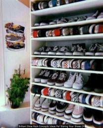 Brilliant Shoe Rack Concepts Ideas For Storing Your Shoes 24