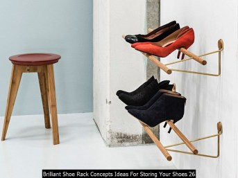 Brilliant Shoe Rack Concepts Ideas For Storing Your Shoes 26