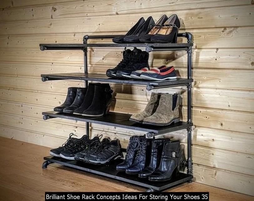 Brilliant Shoe Rack Concepts Ideas For Storing Your Shoes 35