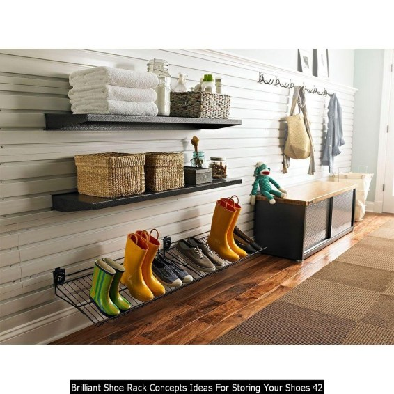 Brilliant Shoe Rack Concepts Ideas For Storing Your Shoes 42