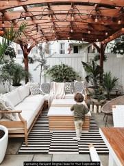 Captivating Backyard Pergola Ideas For Your Inspiration 05