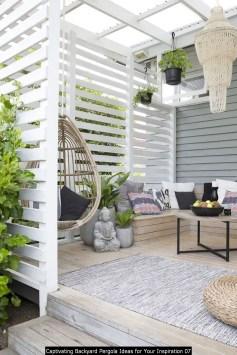 Captivating Backyard Pergola Ideas For Your Inspiration 07