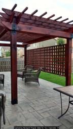 Captivating Backyard Pergola Ideas For Your Inspiration 14