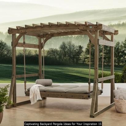Captivating Backyard Pergola Ideas For Your Inspiration 15
