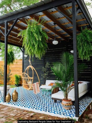 Captivating Backyard Pergola Ideas For Your Inspiration 17