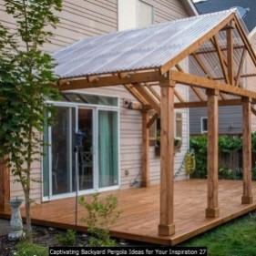 Captivating Backyard Pergola Ideas For Your Inspiration 27