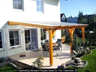Captivating Backyard Pergola Ideas For Your Inspiration 39
