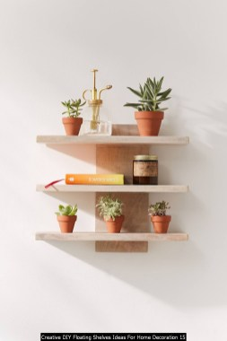 Creative DIY Floating Shelves Ideas For Home Decoration 15