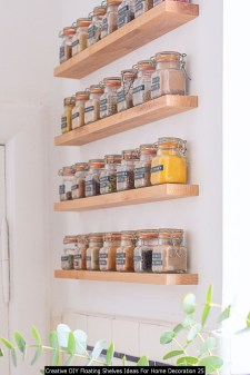 Creative DIY Floating Shelves Ideas For Home Decoration 25