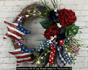 Extraordinary 4th Of July Wreath Ideas For This Summer 02