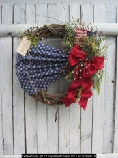 Extraordinary 4th Of July Wreath Ideas For This Summer 03