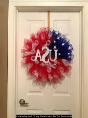 Extraordinary 4th Of July Wreath Ideas For This Summer 04