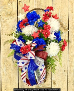 Extraordinary 4th Of July Wreath Ideas For This Summer 13