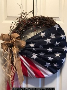 Extraordinary 4th Of July Wreath Ideas For This Summer 14