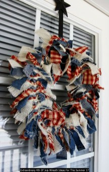 Extraordinary 4th Of July Wreath Ideas For This Summer 17