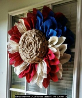 Extraordinary 4th Of July Wreath Ideas For This Summer 18