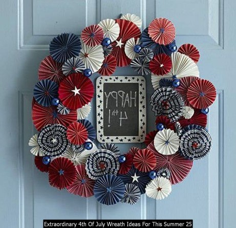 Extraordinary 4th Of July Wreath Ideas For This Summer 25