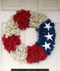 Extraordinary 4th Of July Wreath Ideas For This Summer 30