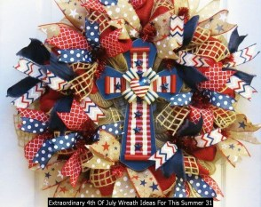 Extraordinary 4th Of July Wreath Ideas For This Summer 31