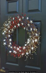 Extraordinary 4th Of July Wreath Ideas For This Summer 32