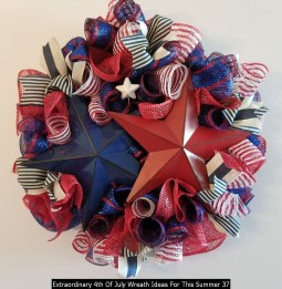 Extraordinary 4th Of July Wreath Ideas For This Summer 37