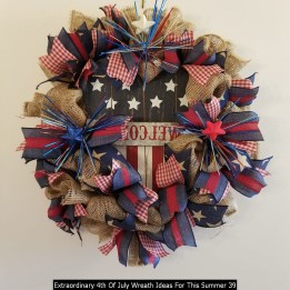 Extraordinary 4th Of July Wreath Ideas For This Summer 39