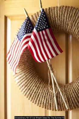 Extraordinary 4th Of July Wreath Ideas For This Summer 43