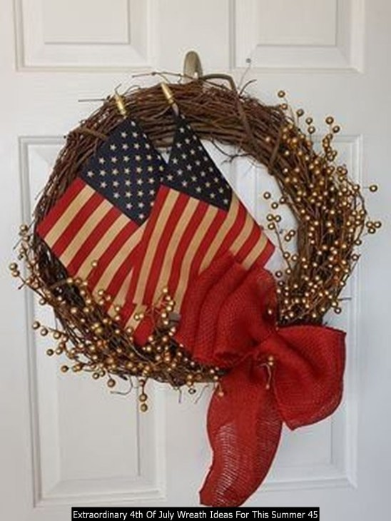 Extraordinary 4th Of July Wreath Ideas For This Summer 45