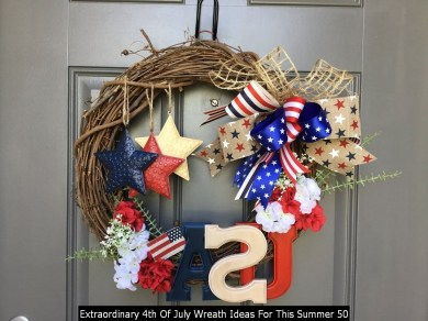 Extraordinary 4th Of July Wreath Ideas For This Summer 50