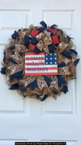 Extraordinary 4th Of July Wreath Ideas For This Summer 51