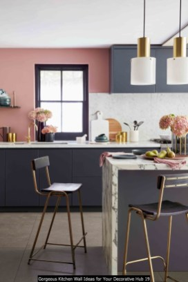 Gorgeous Kitchen Wall Ideas For Your Decorative Hub 19