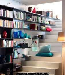 Innovative Stair Design Ideas For Small Space 02