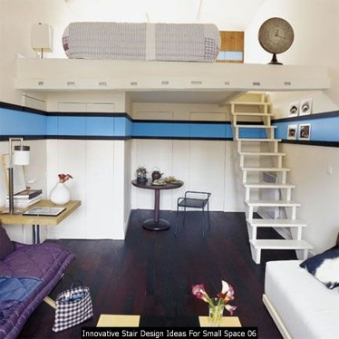 Innovative Stair Design Ideas For Small Space 06