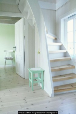 Innovative Stair Design Ideas For Small Space 07