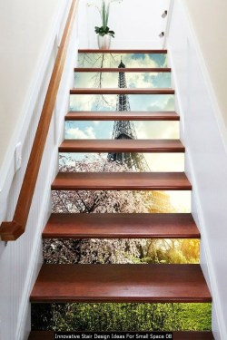 Innovative Stair Design Ideas For Small Space 08