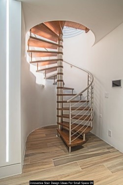 Innovative Stair Design Ideas For Small Space 09